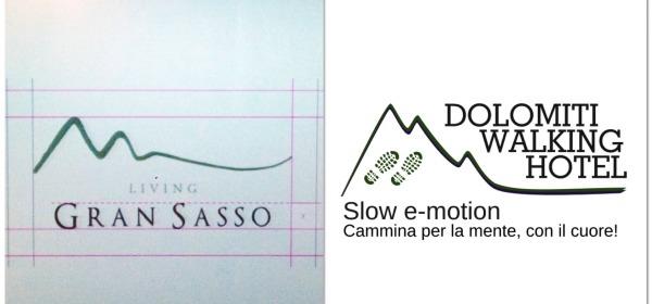 """Logo """"Distretto Turistico Del Gran Sasso"""""""