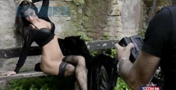 Raffaella Fico nuda