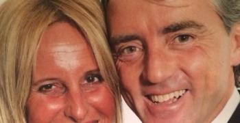 Roberto Mancini e Federica Morelli da Instagram