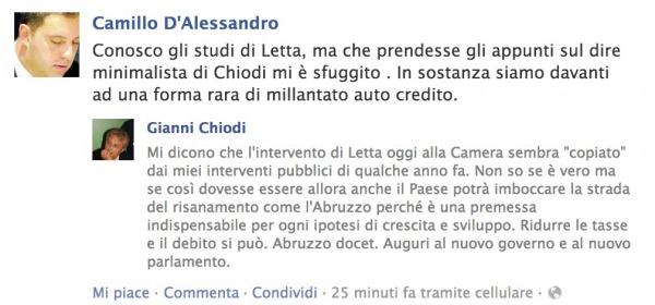 facebook Camillo D'Alessandro