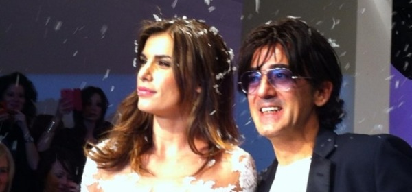 Alessandro Angelozzi con Elisabetta Canalis