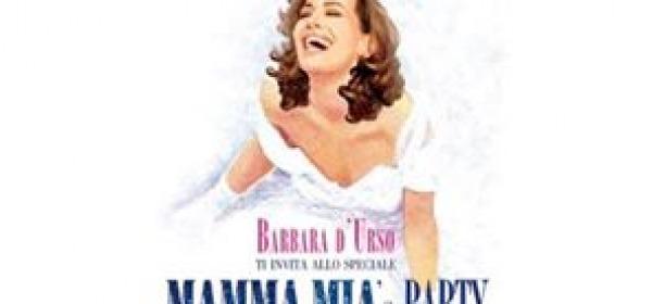Barbara D'Urso, party stile