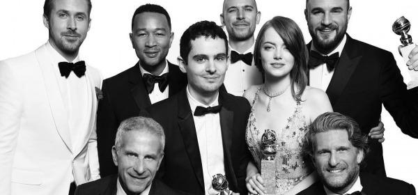 "Best Motion Picture - Musical or Comedy, ""La La Land"" - foto da instagram"