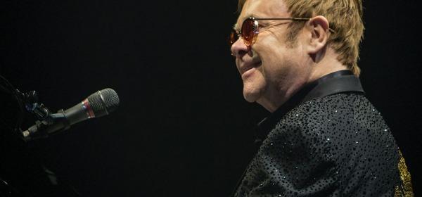 Elton John - foto da twitter